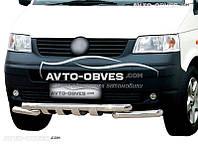 Защита переднего бампера модельная для VW Transporter Т5