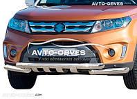 Защита бампера модельная для Suzuki Vitara 2015-...