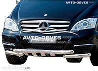 Защита переднего бампера модельная для Mercedes-Benz Vito II \ Viano II 2010-2015.
