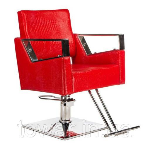 Стул для парикмахера Roberto BM-203 Red Польша