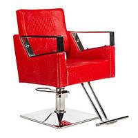 Стул для парикмахера Roberto BM-203 Red Польша, фото 1