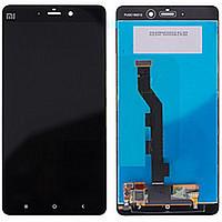 Дисплей (экран) для Xiaomi Mi Note с сенсором (тачскрином) черный Оригинал