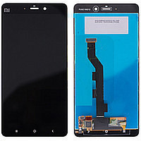 Дисплей (экран) для Xiaomi Mi Note с сенсором (тачскрином) черный