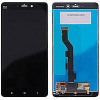 Дисплей (экран) для Xiaomi Mi Note с сенсором (тачскрином) черный, фото 2