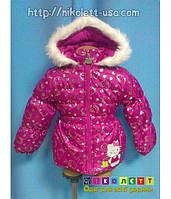 Куртка Детская Зимняя Hello Kitty