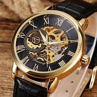 Часы наручные мужские FORSINING Gold скелетон M067