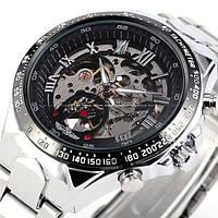 Часы наручные мужские WINNER White mod80