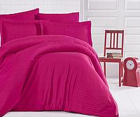 Комплект постельного белья  Clasy сатин Strip размер евро FUSYA