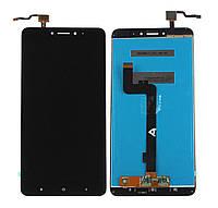 Дисплей (экран) для Xiaomi Mi Max 2 + с сенсором (тачскрином) черный Оригинал
