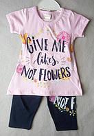 Літні костюми для дівчаток