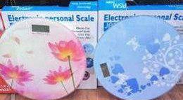 Весы напольные цифровые Personal Scale 2003А, до 180 кг, с рисунком