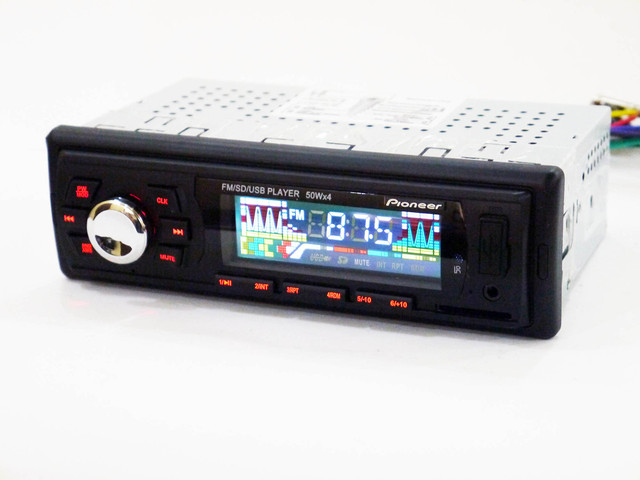 Автомагнитола многофункциональная универсальная Pioneer 6249 FM-тюнер с автосканированиемt