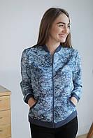 Куртка женская облегченная на молнии спортивного типа. 48ce24af345b1
