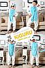 Пижама голубой единорог , фото 2