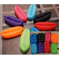 Надувной диван-мешок Lamzac BT-IG-0051 водонепрониц.PE 2 слоя размер 240*70см 5цв.сумка ш.к.