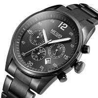 Часы наручные мужские MEGIR 2010 Black M091