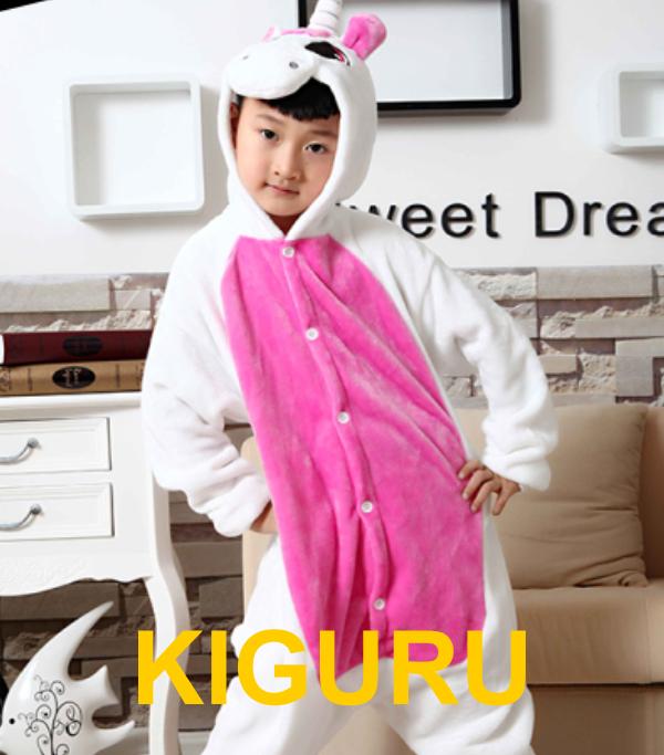 Детская пижама единорог розовая  Унисекс, 120-130 см, Розовый - KIGURU в Киеве