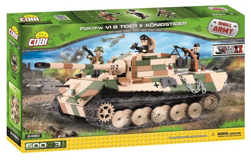 "Конструктор Танк ""Тигр II"" VI COBI серия Small Army (COBI-2480)"