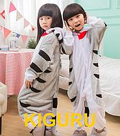 Пижама кигуруми кот детский