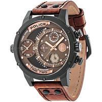 Часы Police Herren-Armbanduhr Adder Analog Handaufzug