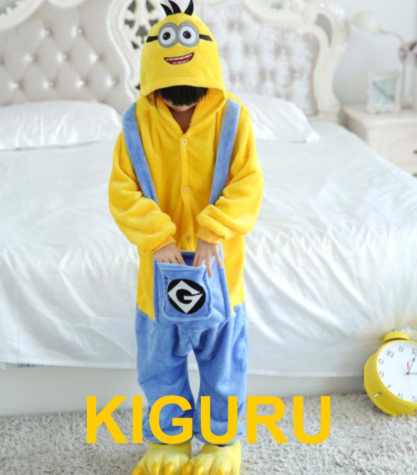 Кигуруми пижама миньон детский