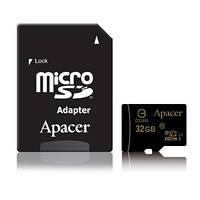 Карта памяти Apacer MicroSDHC 32GB UHS-I (Class 10)+SD adapter