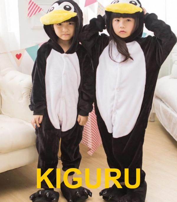 Кигуруми пижама пингвин детский