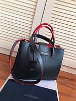 Женская сумка Prada Bordo
