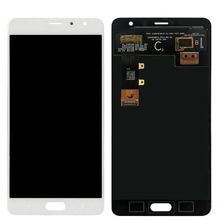 Дисплей (экран) для Xiaomi Redmi Pro с сенсором (тачскрином) белый, фото 2