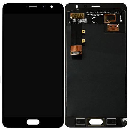 Дисплей (экран) для Xiaomi Redmi Pro с сенсором (тачскрином) черный, фото 2