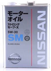 NISSAN SN STRONG SAVE X 5W-30 4л