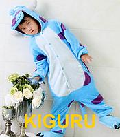 Кигуруми Салливан детская пижама