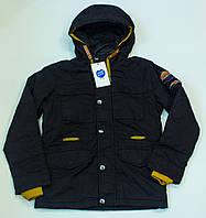 Модная куртка-парка демисезон  на мальчика  (рост 134-170 см)