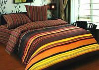 Ткань для постельного белья, поплин (хлопок) Шоколад основа