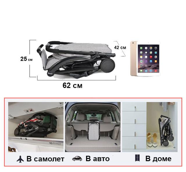 Коляска Aby IndiGo 717 для самолета купить в Киеве, цена в Украине | alisa-ua