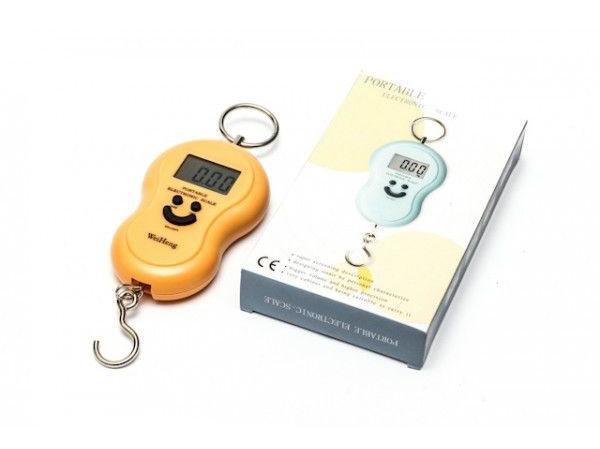 Электронный кантер (весы ручные) смайлик от 0,01 до 50 кг Portable electronic scale