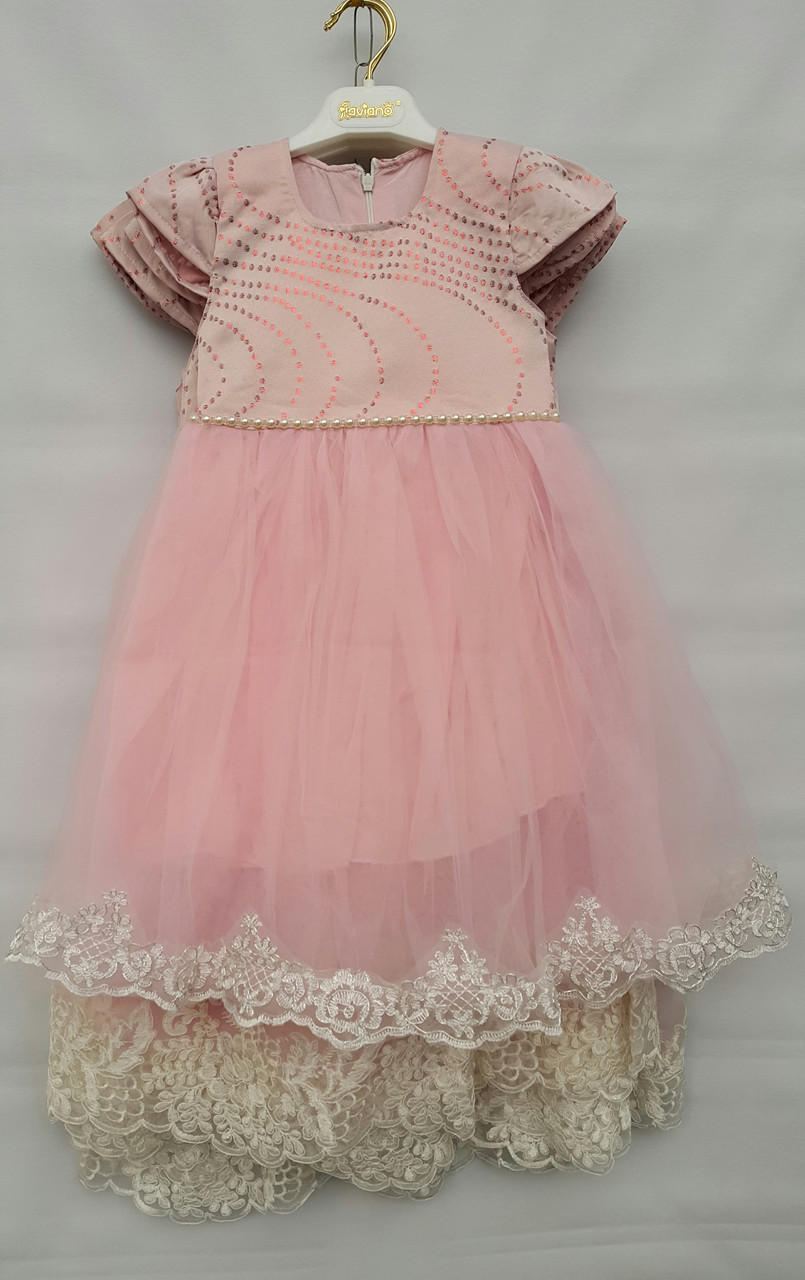 Нарядное турецкое платье на девочек 3-4-5-6 лет София
