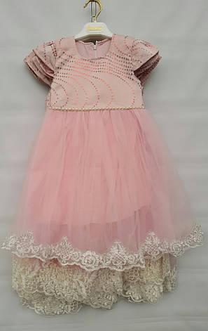 Нарядное турецкое платье на девочек 3-4-5-6 лет София, фото 2