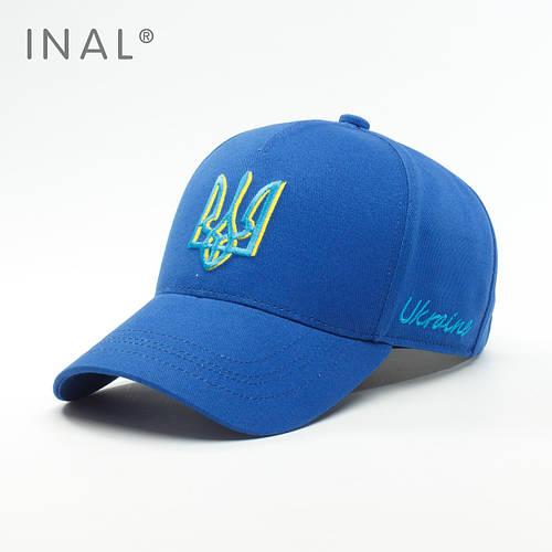Бейсболка, Ukraine, L / 57-58 RU, Хлопок, Электрик,Inal