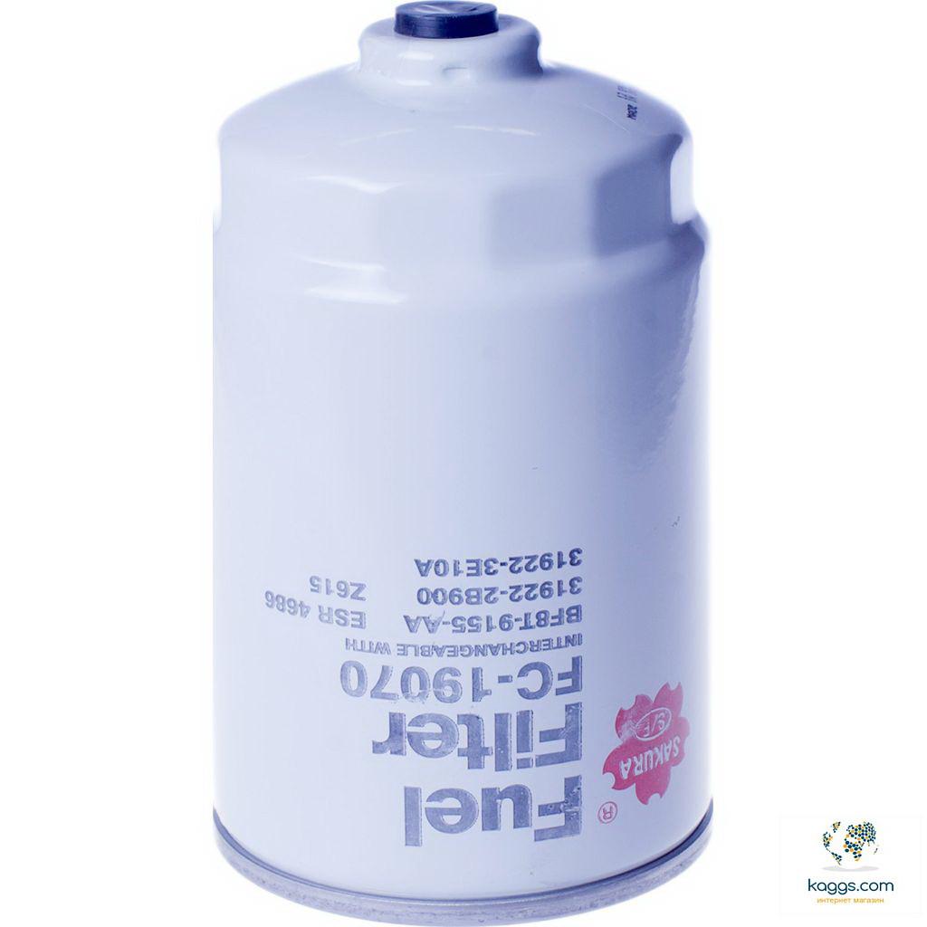 Фильтр очистки топлива Sakura fc19070 для автомобилей Hyundai, Kia