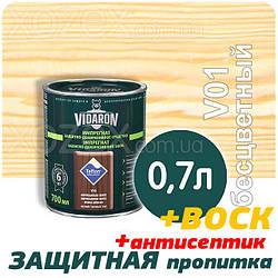 VIDARON Импрегнат Защитно-Декоративная пропитка  0,7лт БЕСЦВЕТНАЯ