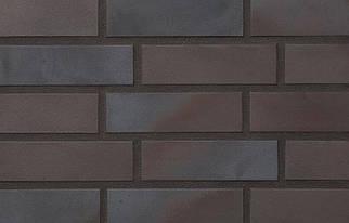 Клинкерная плитка Stroeher 336 metallic black, серия KERAVETTE  формат NF 240х71х11