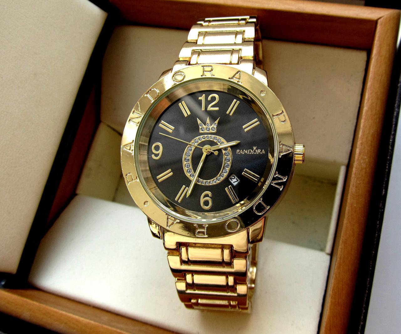 """Часы женские, наручные, золотые под """"Pandora, Rolex, Michael Kors, аксессуары женские, повседневные"""