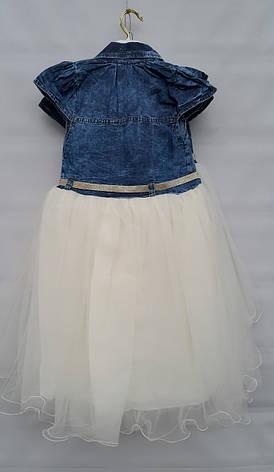 Платье нарядное для девочек 5-6-7-8 лет Flaviano , фото 3