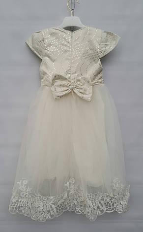 Нарядное платье на девочек 3-4-5-6 лет София, фото 3
