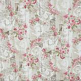Декоративная ткань  агата / почта парижа,беж,розовый 146552, фото 2