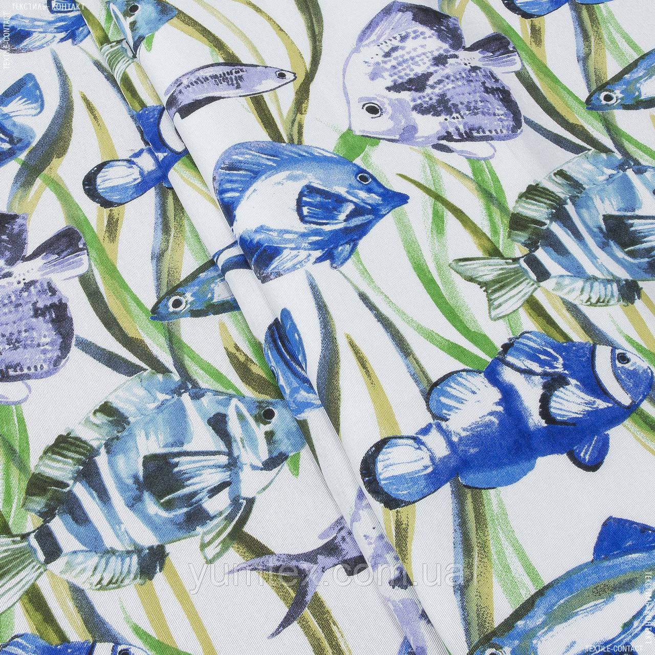 Декоративная ткань немо/nemo рыбки 139766