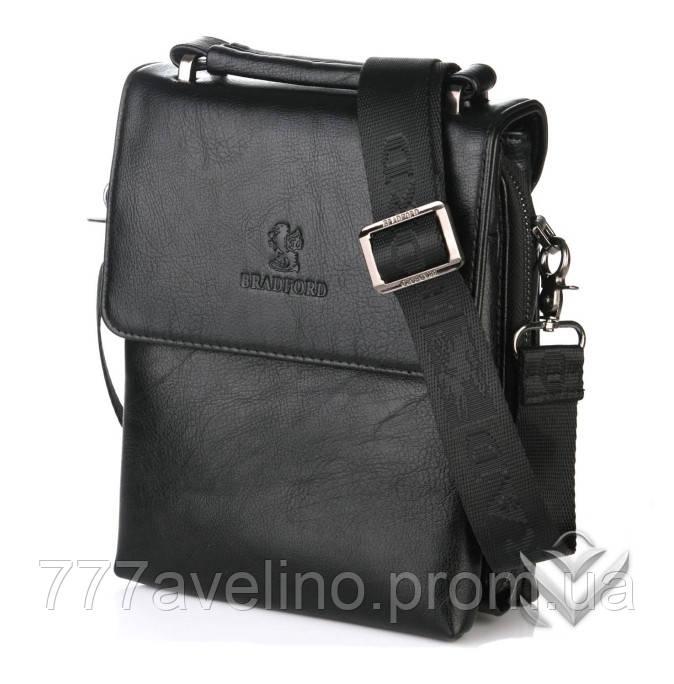 e6d51414907e Мужская сумка через плечо bradford 18774 -1 черная - Интернет магазин Модный  Стиль в Харькове