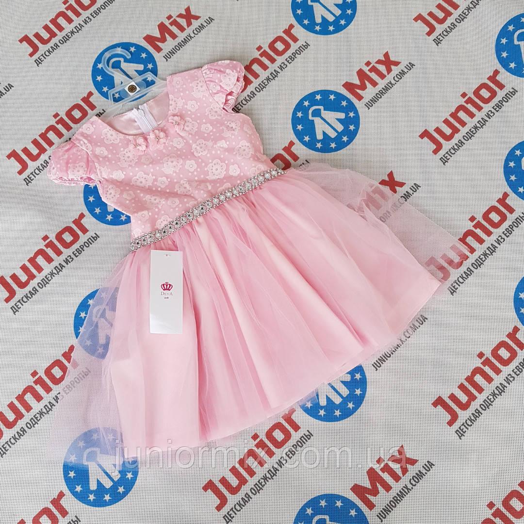 Детские нарядные пышные платья для девочек оптом DEVA