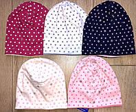 Польские трикотажные весенние шапки